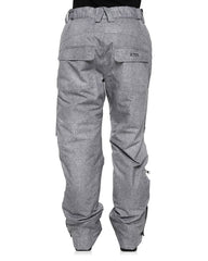 Grey Denim | XTM Smooch II Ladies Ski Pants. Full Length Back View