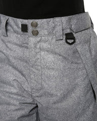Grey Denim | XTM Smooch II Ladies Ski Pants. Close up waist view front