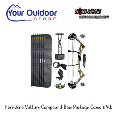 Horizone Vulture Package Compound Bow Camo Right Hand 65 Pound