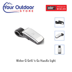 Black | Weber Q Grill 'n Go Light | Grill Light