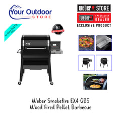 Weber SmokeFire EX4 GBS Wood Fired Pellet Smoker