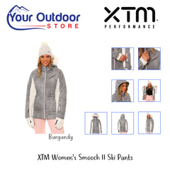 Grey/White | XTM Womens Thea Snow Jacket. Hero Image