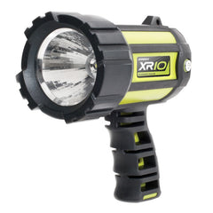 Companion XR10 Rechargeable Hand Held Spotlight. Black and Green