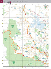 Hema Australia Motorcycle Atlas with 200 Top Rides. Full Page Map