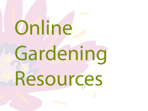 Online Gardening Resources