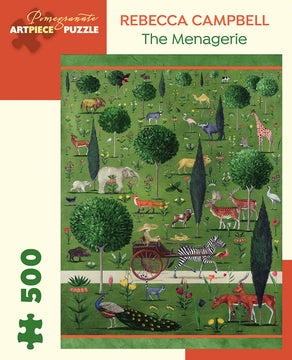 The Menagerie Rebecca Campbell Pomegranate Puzzle 500pcs