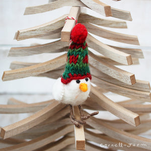 Pippy Beanie Birdy ornament 4in