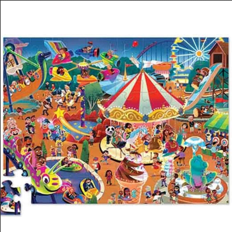 Day at the Fair Crocodile Creek Puzzle 48pcs