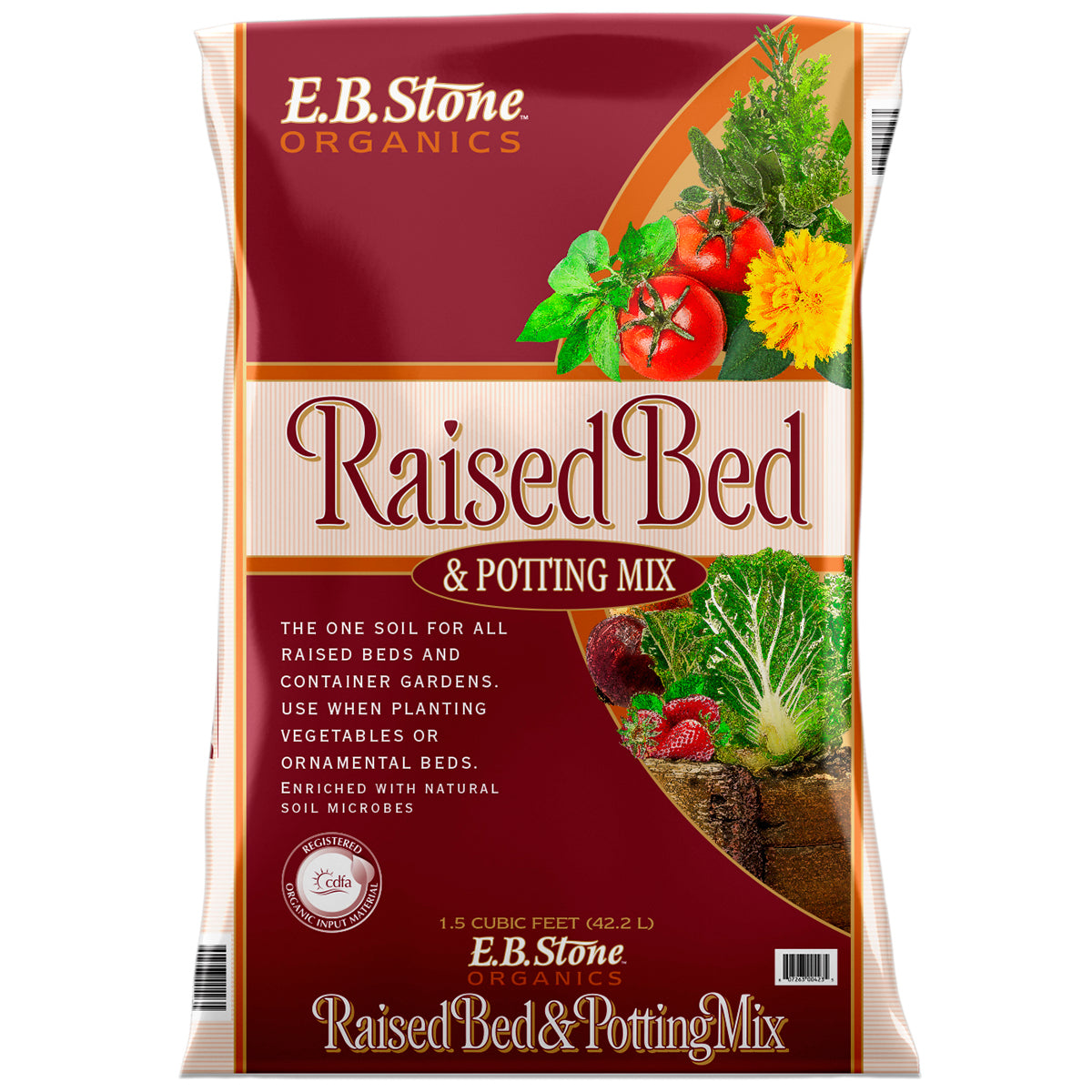 Raised Bed Potting Mix 1.5cf