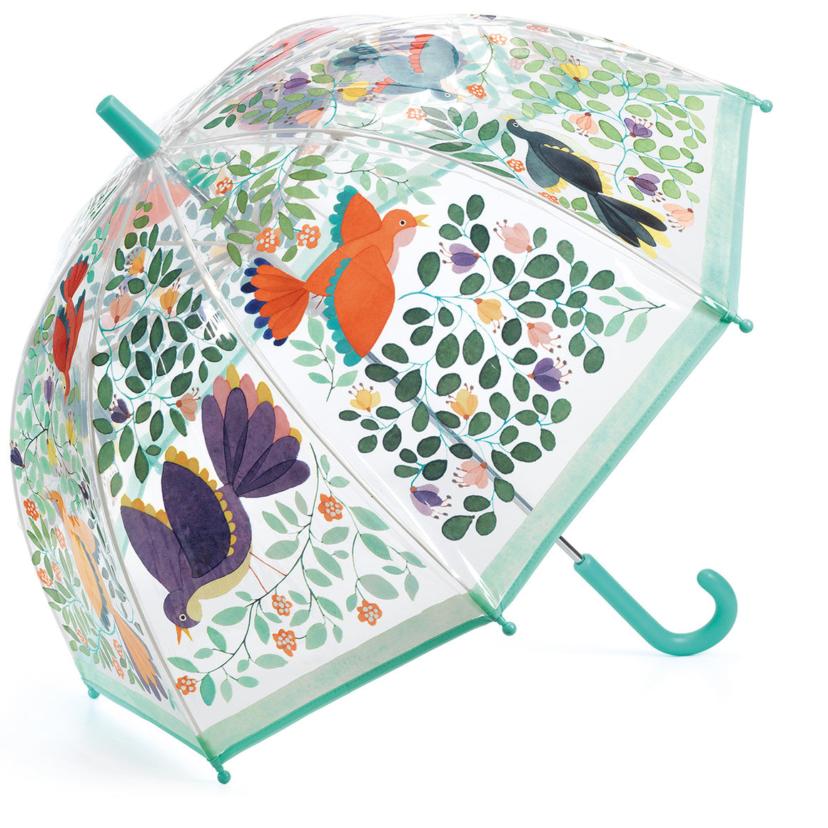 PREORDER Kid's Umbrella Flowers and Birds