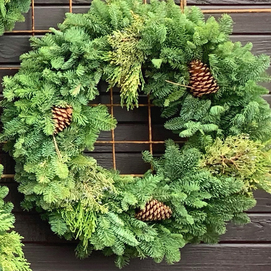 Evergreen Mixed Wreaths