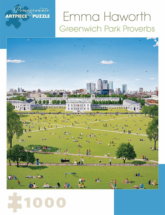 Greenwich Park Emma Haworth Pomegranate Puzzle 1000pcs