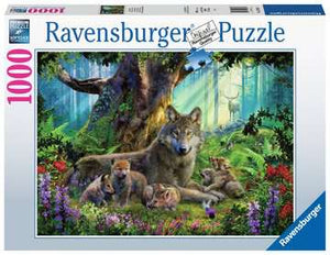 Wolfs in the Forest Ravensburger Puzzle 1000pcs