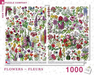 Flowers - Fleurs New York Puzzle Company 1000pcs