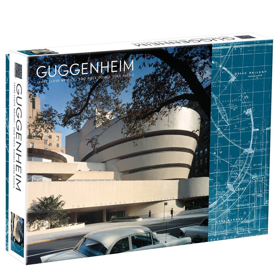 Frank Lloyd Wright Guggenheim Double Sided Galison Puzzle 500pcs