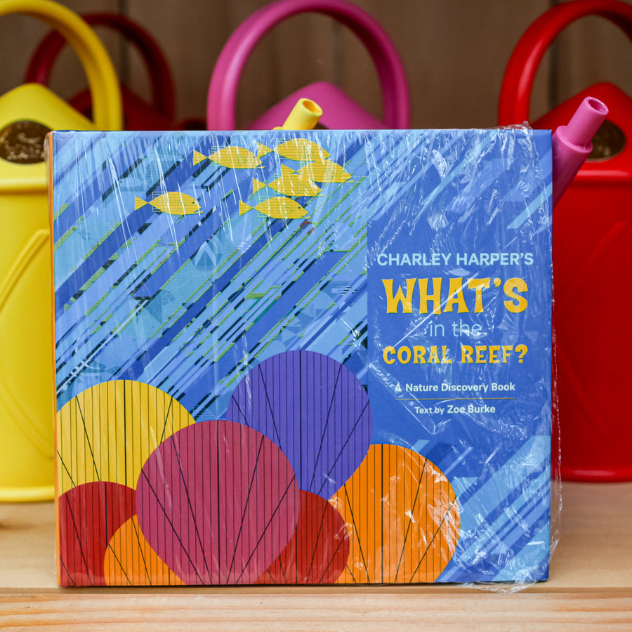 Charley Harper's What's in the Coral Reef? Nature Discovery Book