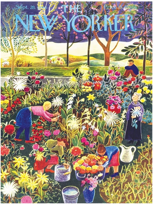 Flower Garden New York Puzzle Company 1000pcs