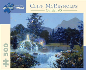 Garden Fountain Cliff McReynolds Pomegranate Puzzle 500pcs