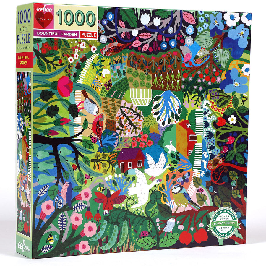 Bountiful Garden eeBoo Puzzle 1000pcs