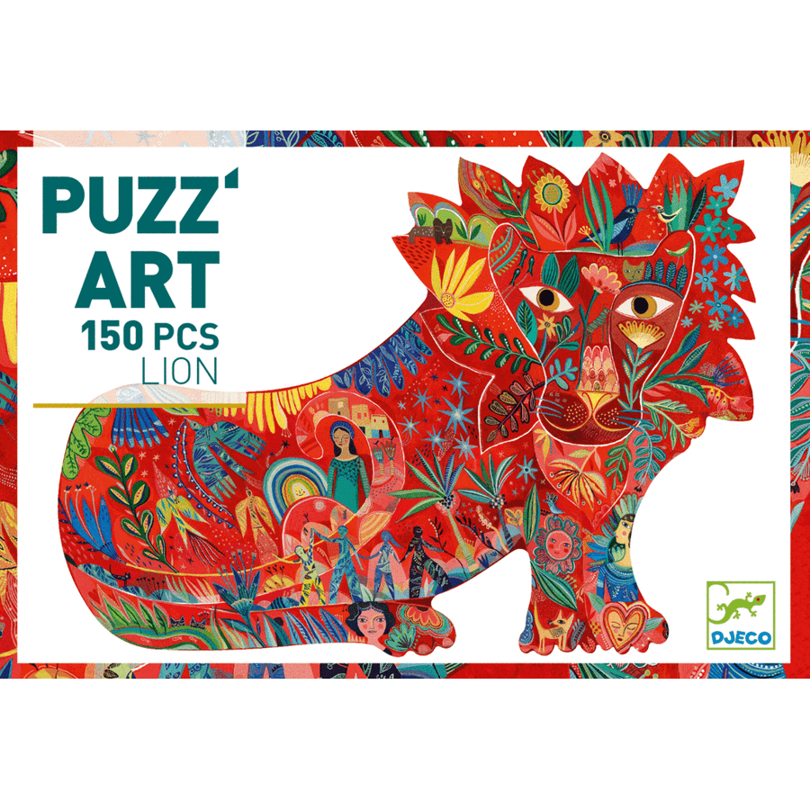 Lion Puzz'Art Djeco Puzzle 150pcs