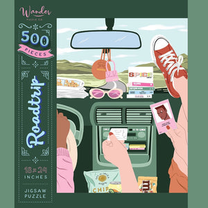 Road Trip Wander Puzzle Co. 500Pcs