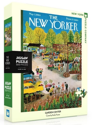 Garden Center New York Puzzle Company 500pcs