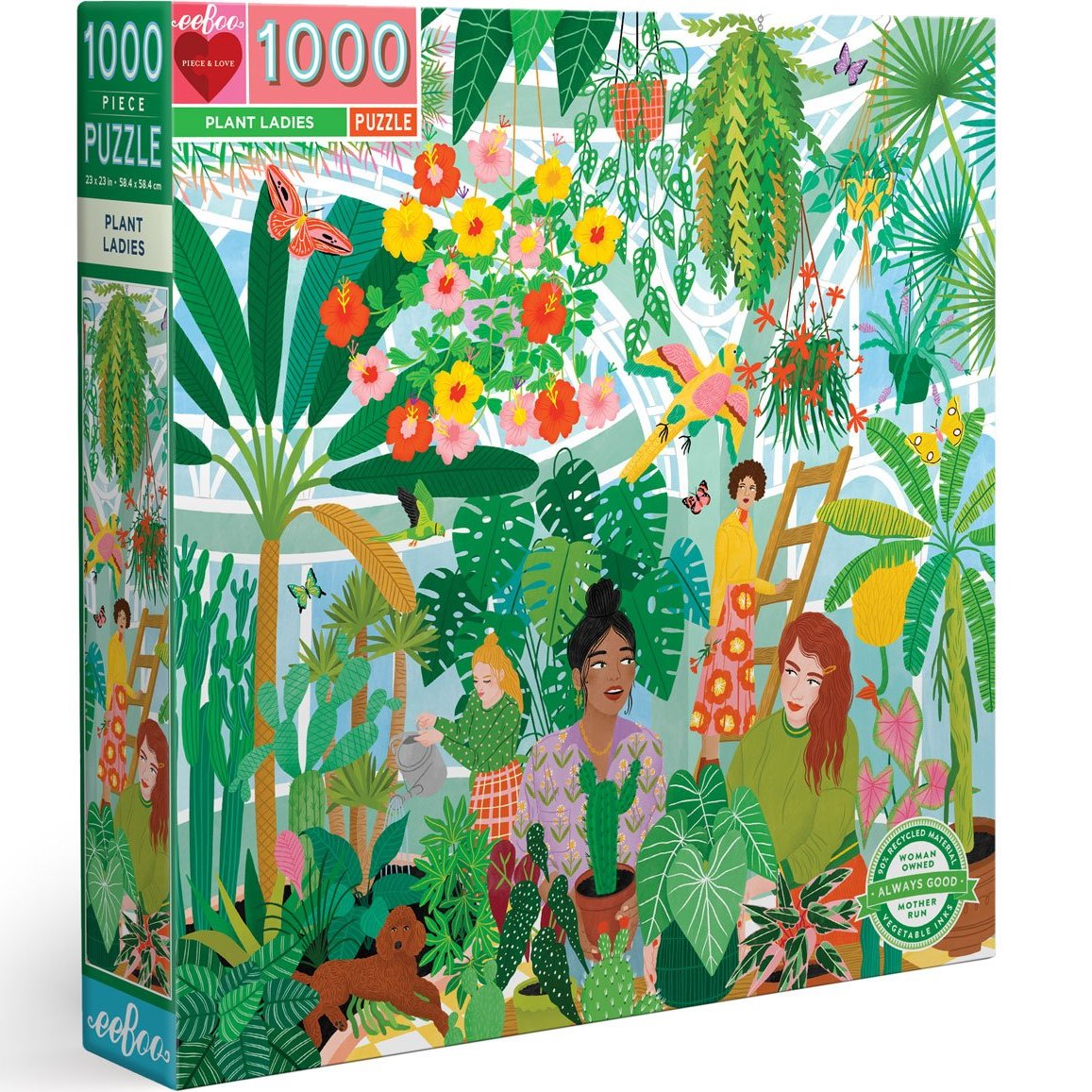 Plant Ladies eeBoo Puzzle 1000pcs