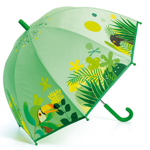 PREORDER Kid's Umbrella Tropical Jungle