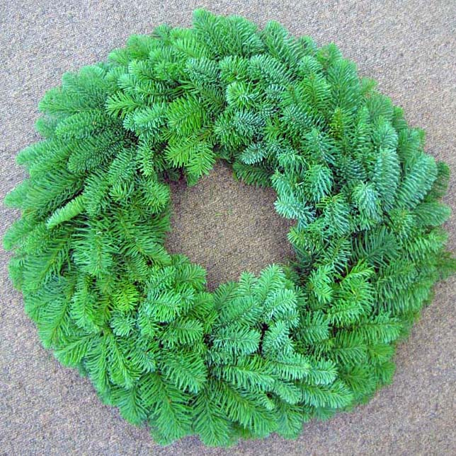 Noble Fir Wreaths