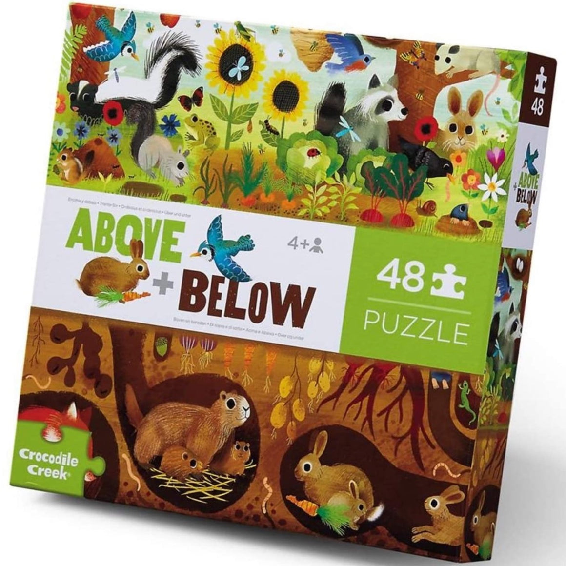 Above & Below Backyard Discovery Crocodile Creek Puzzle 48pcs