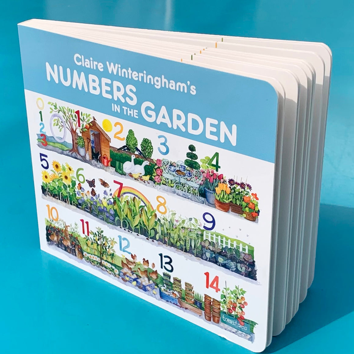 Numbers In The Garden Board Book