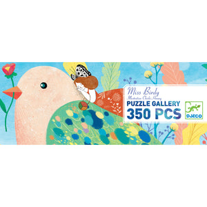 Miss Birdy Gallery 350 Djeco Puzzle