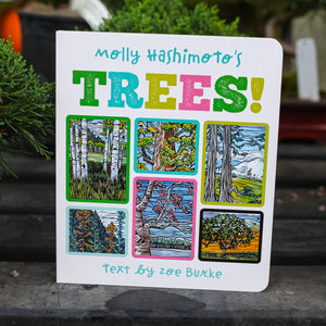 Molly Hashimoto's Trees! Season by Season Board Book