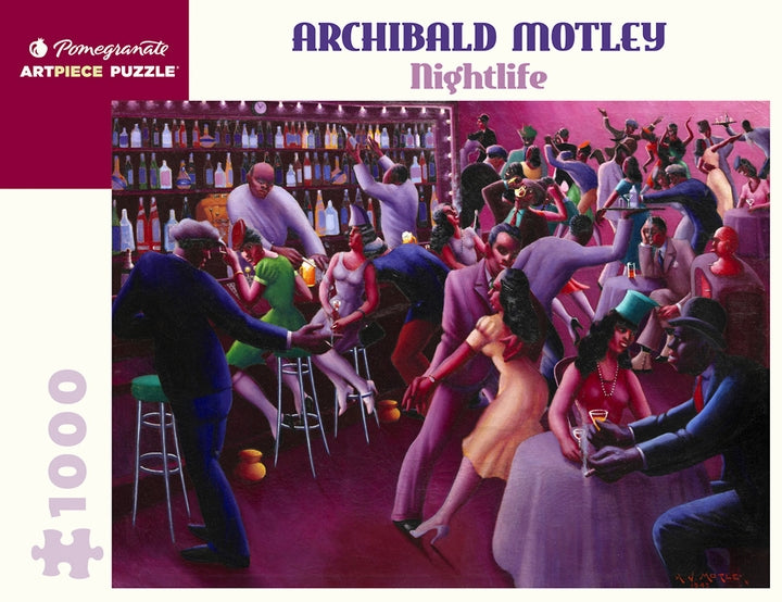 Archibald Motley: Nightlife Pomegranate Puzzle 1000pcs