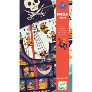 Pirate Ship Giant Floor 36 Djeco Puzzle