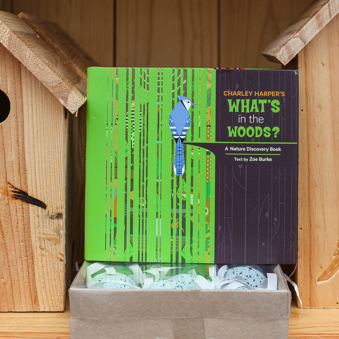 Charley Harper's What's in the Woods? Nature Discovery Book