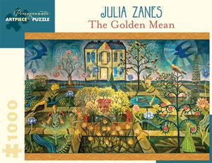 The Golden Mean Julia Zane Pomegranate Puzzle 1000pcs