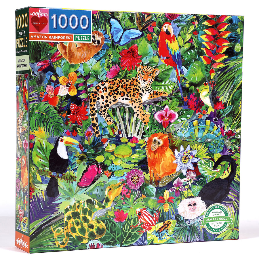 Amazon Rainforest eeBoo Puzzle 1000pcs