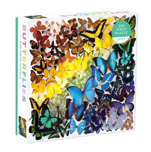 Rainbow Butterflies Galison Puzzle 500pcs