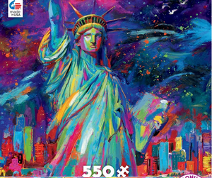 Lady Liberty Blend Cota CEACO Puzzle 550pcs