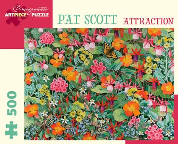 Attraction Pat Scott Pomegranate Puzzle 500pcs