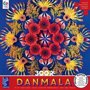 Danmala Red Flowers CEACO Puzzle 300pcs