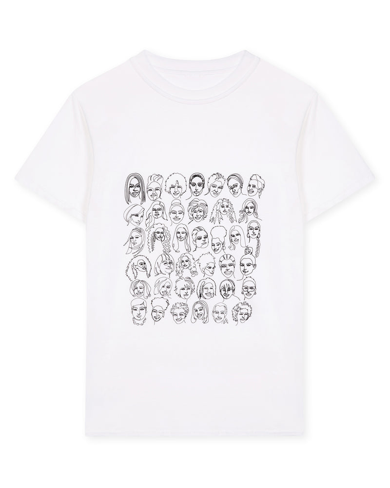 Queens of Black Britain Illustrated T-Shirt