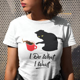 I Do What I Want Short-Sleeve Unisex T-Shirt