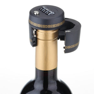 Combination Lock Wine Stopper