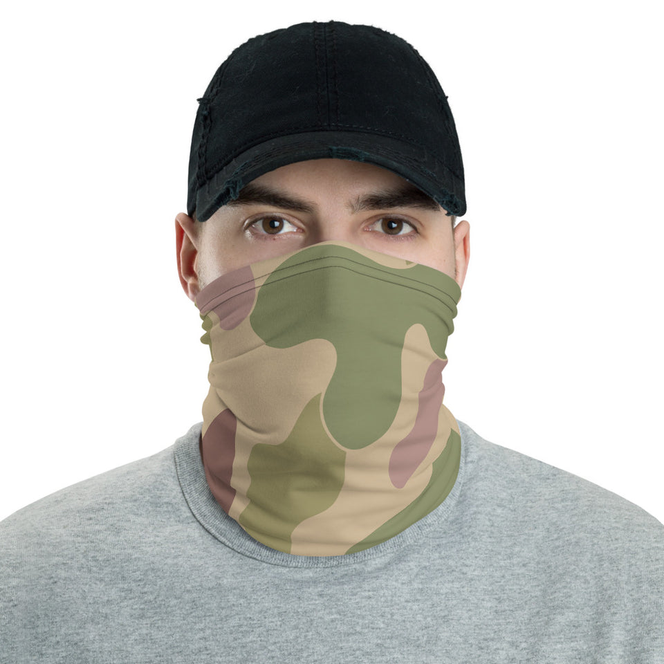 Camouflage Brown Neck Gaiter