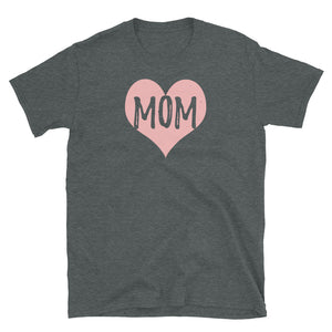 Mom with 💗 Heart T-Shirt