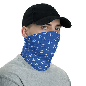 Nautical Anchor Neck Gaiter