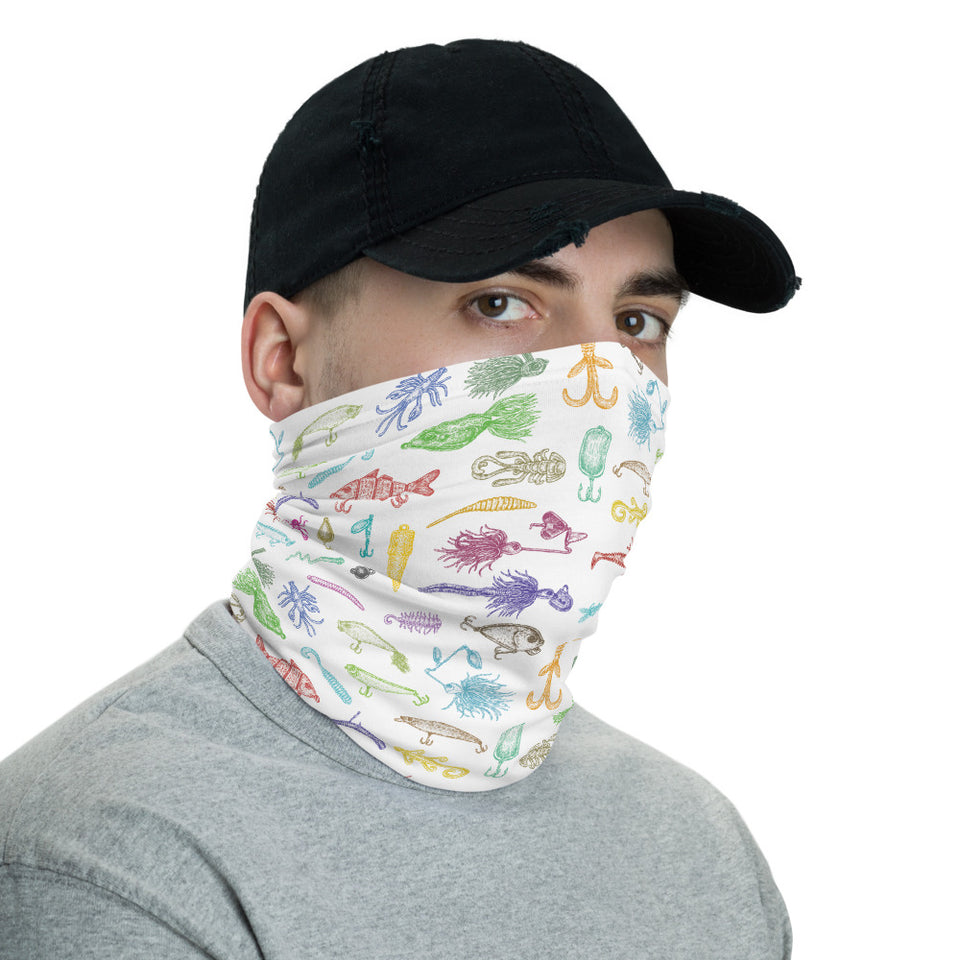 Fishing Bait Neck Gaiter