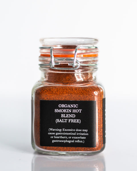 Spiced Up Organic Smokin' Hot Salt Free Blend